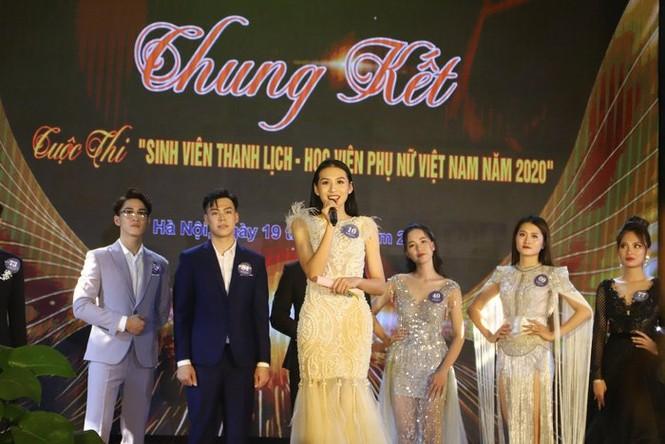 Chung kết cuộc thi Sinh viên thanh lịch Học viện Phụ nữ Việt Nam 2020 - ảnh 7