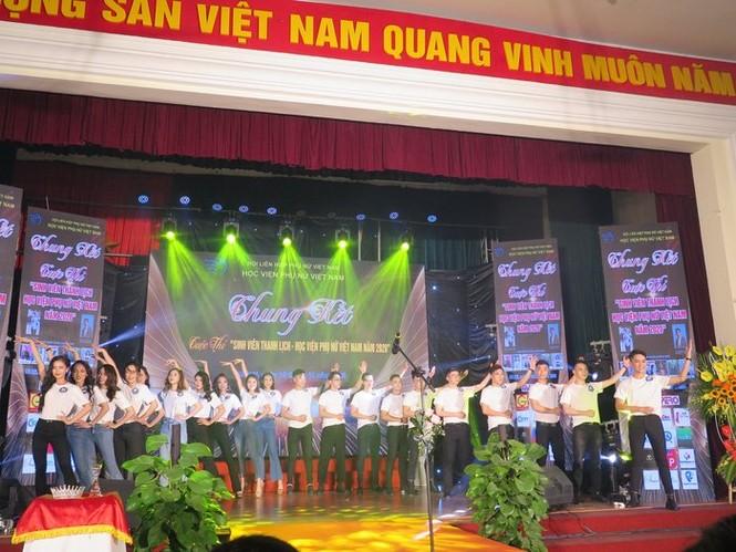 Chung kết cuộc thi Sinh viên thanh lịch Học viện Phụ nữ Việt Nam 2020 - ảnh 9