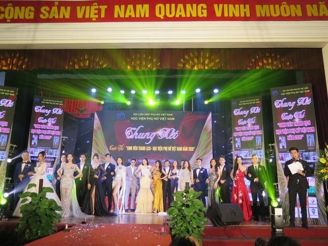 Chung kết cuộc thi Sinh viên thanh lịch Học viện Phụ nữ Việt Nam 2020 - ảnh 10