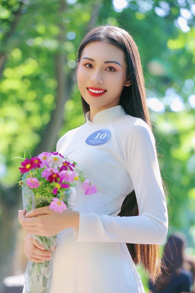Hoa khôi Học viện Phụ nữ Việt Nam tinh khôi trong bộ ảnh áo dài - ảnh 6