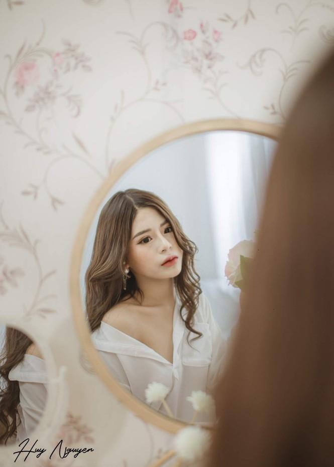 Hot girl Hà thành: Mình yêu nghề mẫu ảnh - ảnh 15