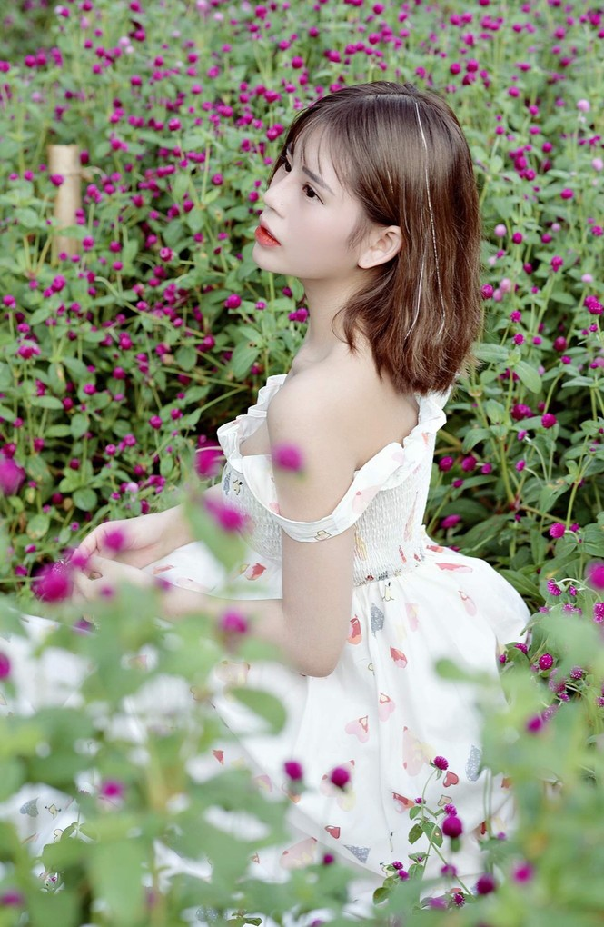 Hot girl Hà thành: Mình yêu nghề mẫu ảnh - ảnh 17