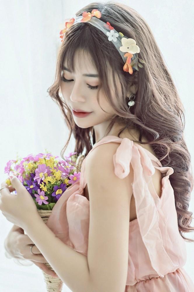Hot girl Hà thành: Mình yêu nghề mẫu ảnh - ảnh 1