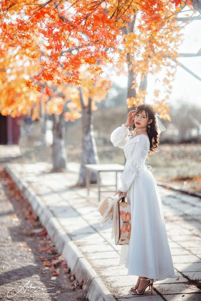 Hot girl Hà thành: Mình yêu nghề mẫu ảnh - ảnh 6