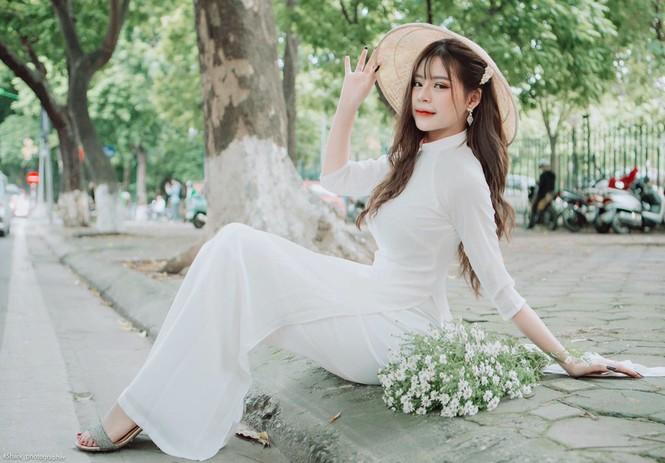 Hot girl Hà thành: Mình yêu nghề mẫu ảnh - ảnh 9