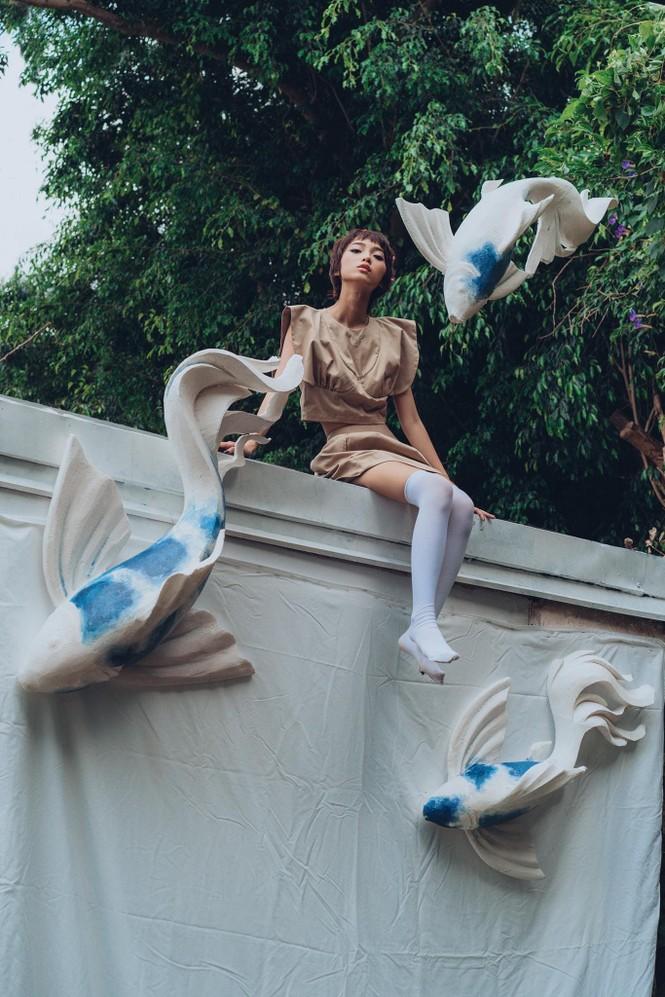 Khánh Linh – Vẻ đẹp độc lạ trong thế giới thời trang - ảnh 16