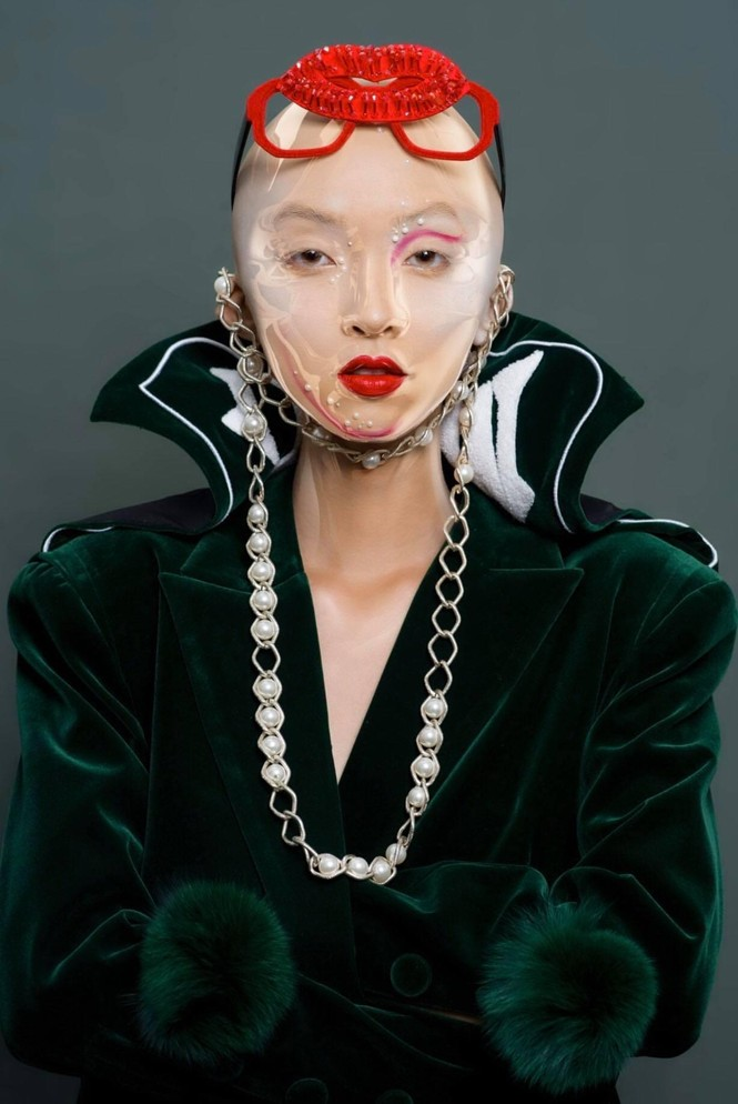 Khánh Linh – Vẻ đẹp độc lạ trong thế giới thời trang - ảnh 4