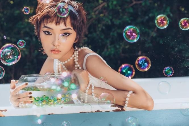 Khánh Linh – Vẻ đẹp độc lạ trong thế giới thời trang - ảnh 3