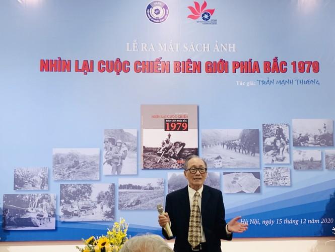"""Tác giả Trần Mạnh Thường ra mắt cuốn sách """"Nhìn lại cuộc chiến biên giới phía Bắc 1979"""" - ảnh 2"""