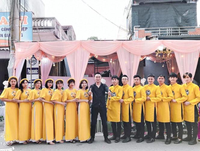 Chàng trai Nam Định cung cấp dịch vụ bê tráp cho ngót nghét nghìn cặp đôi - ảnh 8