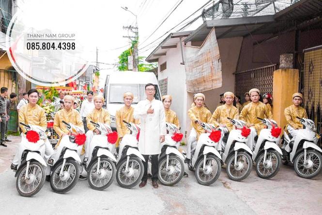 Chàng trai Nam Định cung cấp dịch vụ bê tráp cho ngót nghét nghìn cặp đôi - ảnh 9