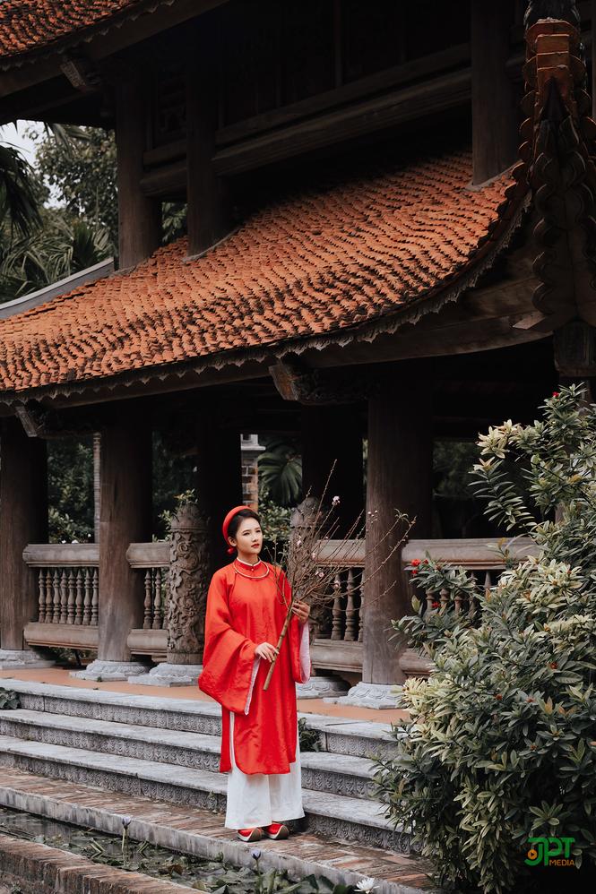 Ngất ngây trước vẻ đẹp đậm chất cổ xưa của Mai Yến trong bộ Cổ phục Việt Nam - ảnh 11