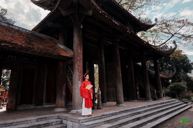 Ngất ngây trước vẻ đẹp đậm chất cổ xưa của Mai Yến trong bộ Cổ phục Việt Nam - ảnh 6