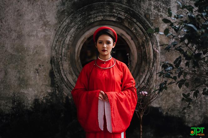 Ngất ngây trước vẻ đẹp đậm chất cổ xưa của Mai Yến trong bộ Cổ phục Việt Nam - ảnh 8