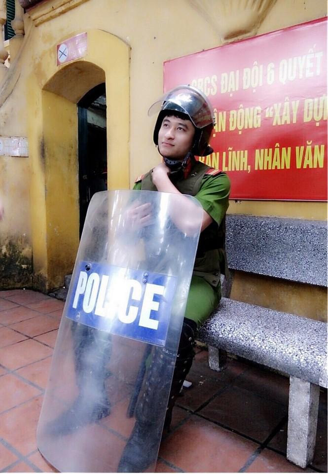 Chàng sinh viên Điện ảnh đến từ Thái Nguyên từng là cảnh sát cơ động đạt nhiều thành tích - ảnh 3
