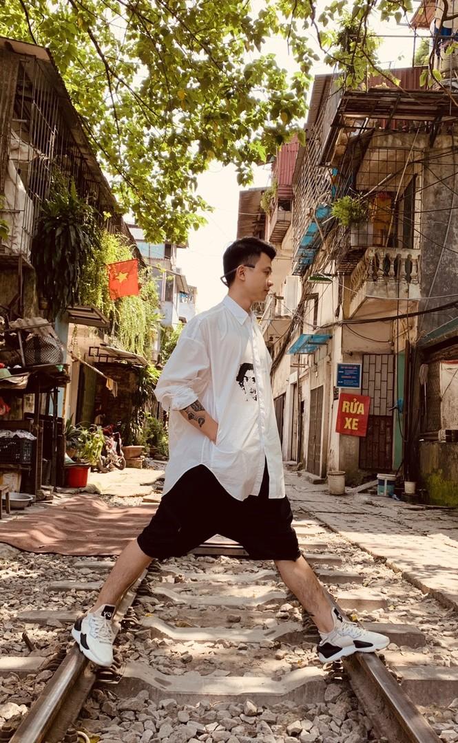 """Chàng trai Thái Nguyên với đam mê """"chơi"""" với vải - ảnh 7"""