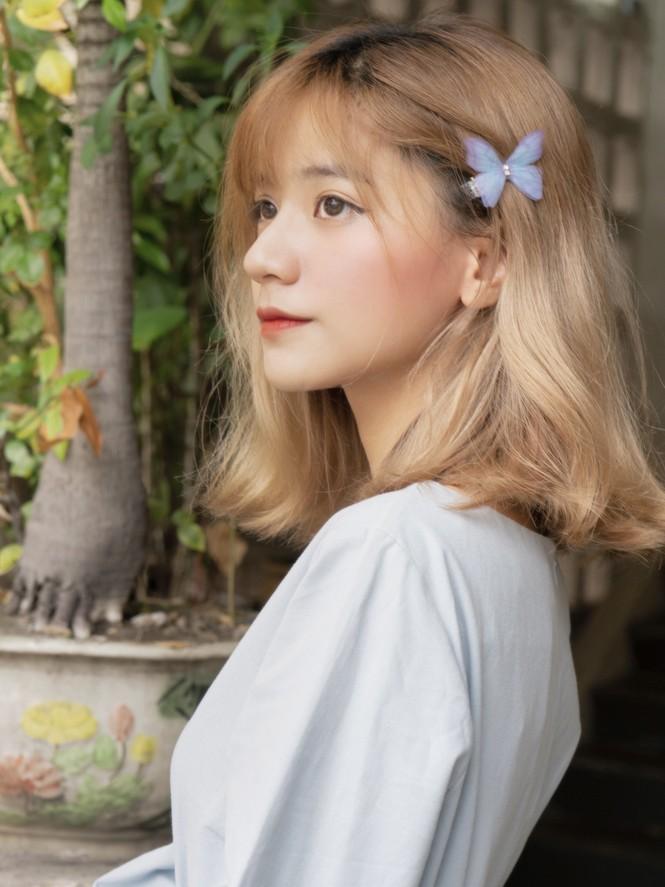 Ngắm nhìn vẻ đẹp ngọt ngào tựa kẹo bông của cô nàng An Giang Huỳnh Nhy - ảnh 1
