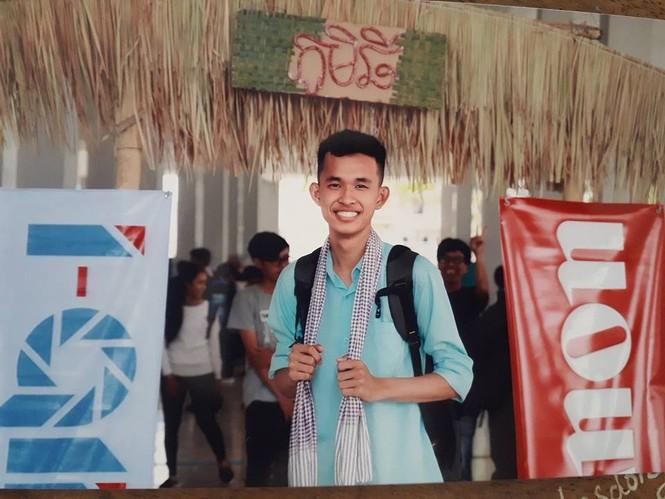 Phó Chủ tịch Hội Sinh viên Campuchia tại Việt Nam đang học tại Đại học Xây dựng - ảnh 1