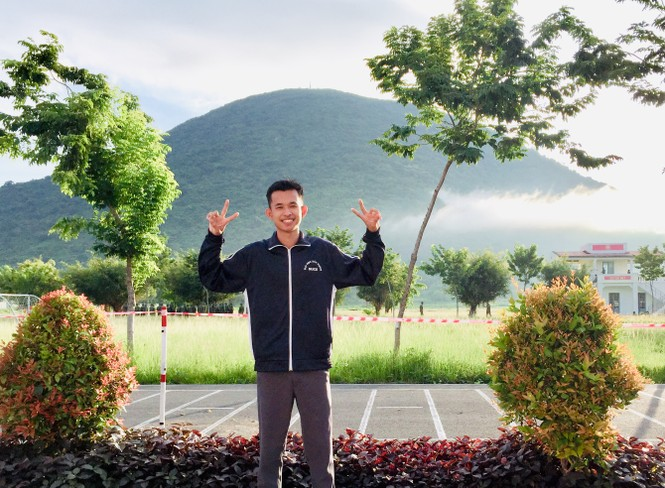 Phó Chủ tịch Hội Sinh viên Campuchia tại Việt Nam đang học tại Đại học Xây dựng - ảnh 6