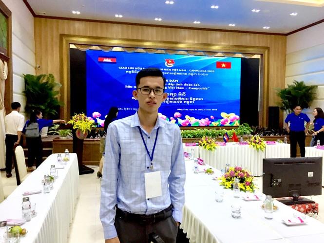 Phó Chủ tịch Hội Sinh viên Campuchia tại Việt Nam đang học tại Đại học Xây dựng - ảnh 8