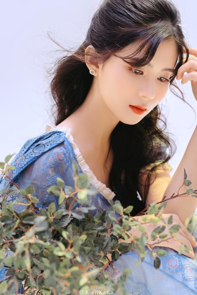 Nữ sinh điện ảnh gây ấn tượng bởi bộ ảnh Tết bên áo Tấc Việt phục - ảnh 12