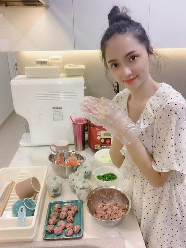 Sao Việt trổ tài nấu ăn khi ở nhà cách ly - ảnh 6