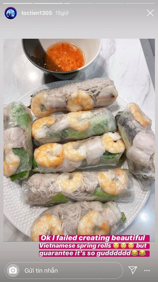 Sao Việt trổ tài nấu ăn khi ở nhà cách ly - ảnh 3