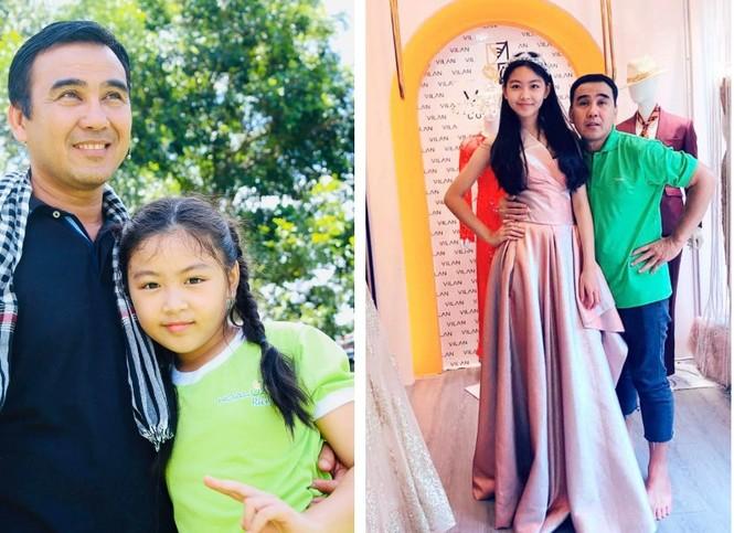 Con gái Quyền Linh được khen xinh đẹp như Hoa hậu tương lai - ảnh 1
