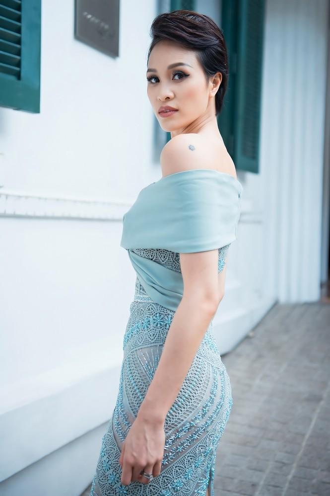 Sinh con chưa đầy 6 tháng, siêu mẫu Phương Mai đã lấy lại vóc dáng nuột nà - ảnh 2