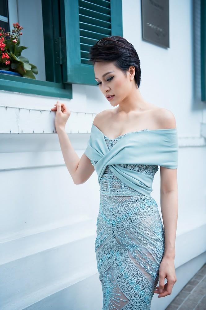 Sinh con chưa đầy 6 tháng, siêu mẫu Phương Mai đã lấy lại vóc dáng nuột nà - ảnh 3