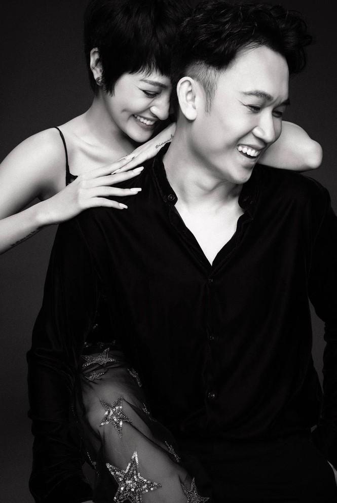 """Sau MV """"Bức tranh tiền kiếp"""", Bảo Anh - Dương Triệu Vũ khoe ảnh chung cực tình cảm - ảnh 4"""
