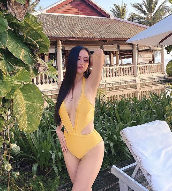 Không thể rời mắt khỏi dàn Hoa hậu khoe ngực đầy eo thon trong bikini nóng bỏng - ảnh 4