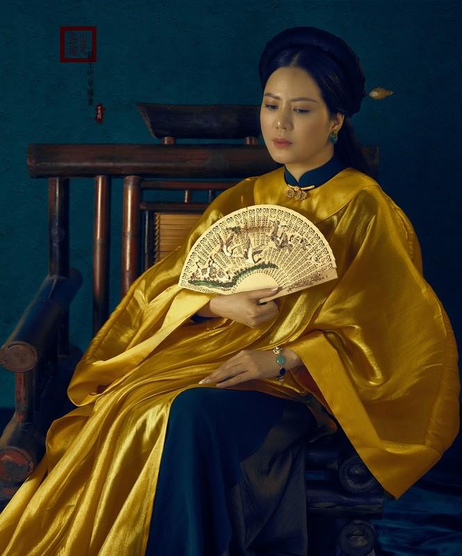 Đinh Hiền Anh hóa mỹ nhân thời xưa đẹp mơ màng trong bộ ảnh đón tuổi mới - ảnh 3