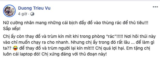 Dương Triệu Vũ bức xúc hé lộ chiêu trò trộm đồ của người giúp việc - ảnh 3