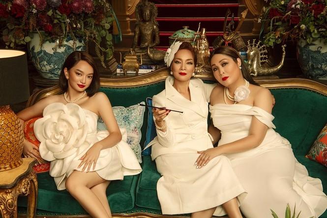 """Hồng Vân, Lê Khanh, Kaity Nguyễn hóa chị em sang chảnh trong """"Gái già lắm chiêu"""" phần mới - ảnh 1"""