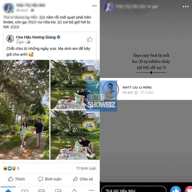 Hương Giang vừa công khai hẹn hò, bạn trai đã bị tố tán tỉnh gái lạ trên Tinder - ảnh 2