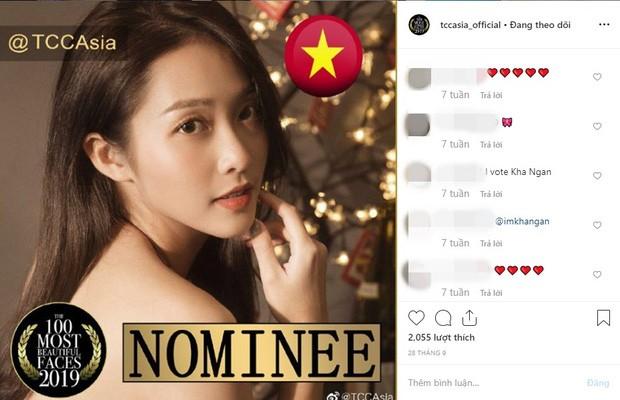 Khả Ngân bất ngờ được đề cử vào top 100 gương mặt đẹp nhất châu Á - ảnh 1