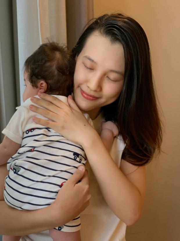 Gia đình nhỏ của Hoàng Oanh sắp được đoàn tụ sau nhiều tháng xa cách vì dịch bệnh - ảnh 3