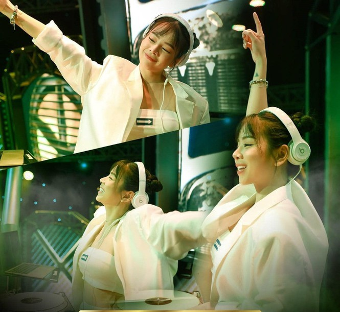 """Giữa một rừng nữ DJ bốc lửa, vì sao DJ Mie lại mặc kín đáo trong show """"Rap Việt""""? - ảnh 2"""