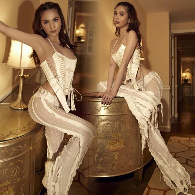 Ngọc Trinh tiếp tục khoe dáng táo bạo với đồ corset nhưng lại bị chê nhiều hơn khen - ảnh 4