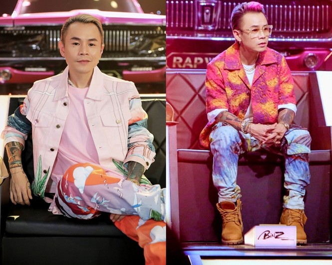 Dàn HLV ăn mặc quá chất khiến Rap Việt dần trở thành sàn diễn thời trang - ảnh 3
