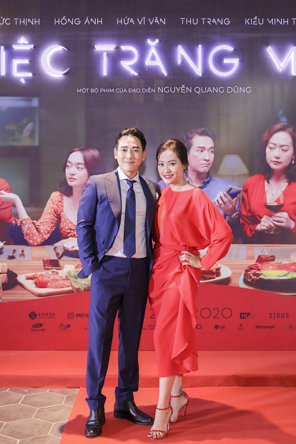 """Dàn sao đình đám hội tụ trong buổi ra mắt 'Tiệc trăng máu"""", phim Việt hay nhất mùa cuối năm - ảnh 3"""