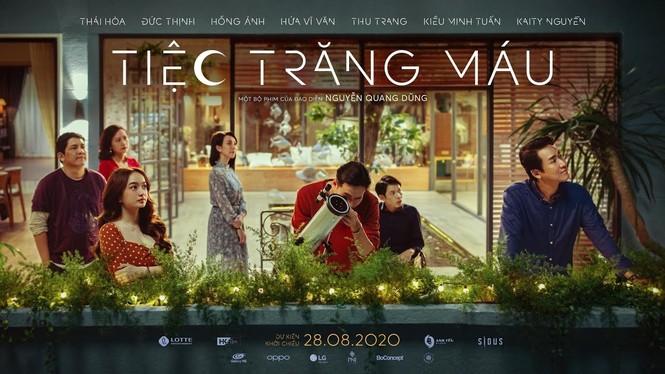 """Dàn sao đình đám hội tụ trong buổi ra mắt 'Tiệc trăng máu"""", phim Việt hay nhất mùa cuối năm - ảnh 1"""