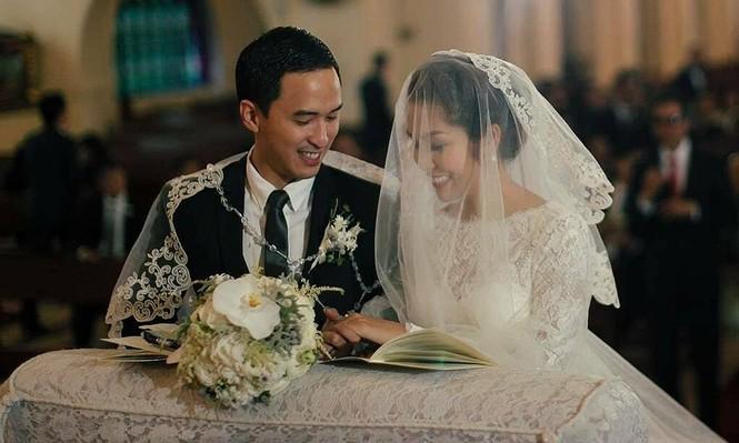 Tăng Thanh Hà khoe ảnh kỷ niệm 8 năm ngày cưới: Mỹ nhân viên mãn nhất V-Biz là đây - ảnh 1