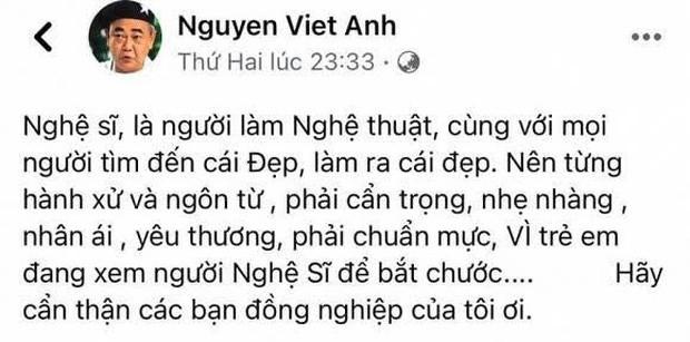 Sau màn đáp trả gay gắt, Cát Phượng đã công khai xin lỗi nghệ sĩ Việt Anh - ảnh 2