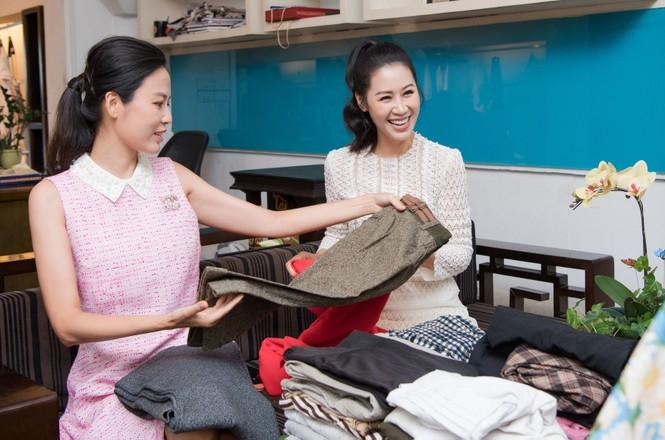 NTK Xuân Lê khởi động chiến dịch 'tái chế' trang phục cũ - ảnh 2