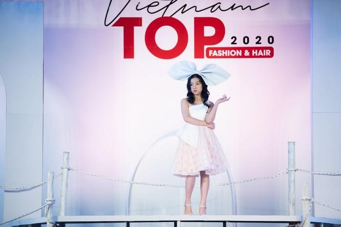 Dàn mẫu nhí khuấy đảo sắc màu tại Vietnam Top Fashion and Hair 2020 - ảnh 5