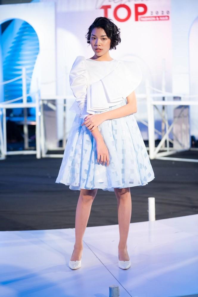 Dàn mẫu nhí khuấy đảo sắc màu tại Vietnam Top Fashion and Hair 2020 - ảnh 9