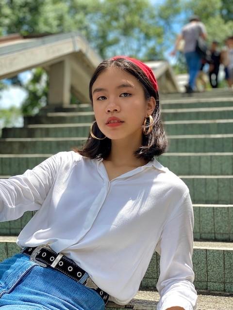 """Cô bé 14 tuổi được Kay Trần """"thả thính"""": Con gái nghệ sĩ lớn, vừa đa tài lại """"chất"""" - ảnh 4"""