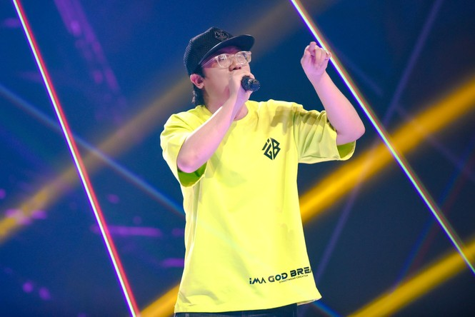ảng A King of Rap của LK thắng thế với 4 'quái vật' nhưng lại 'mất đi' 1 người không ngờ  - ảnh 5